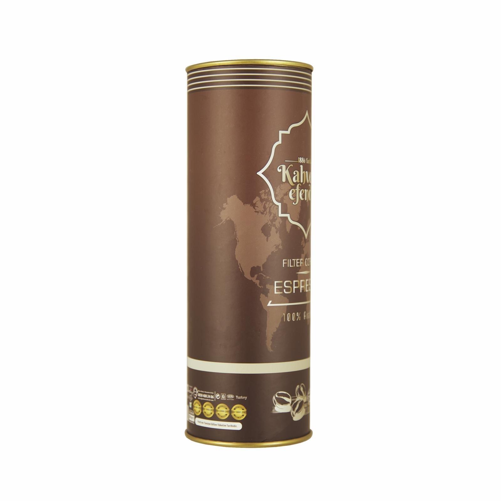 250 GR Espresso Kahve Premium Teneke Kutu