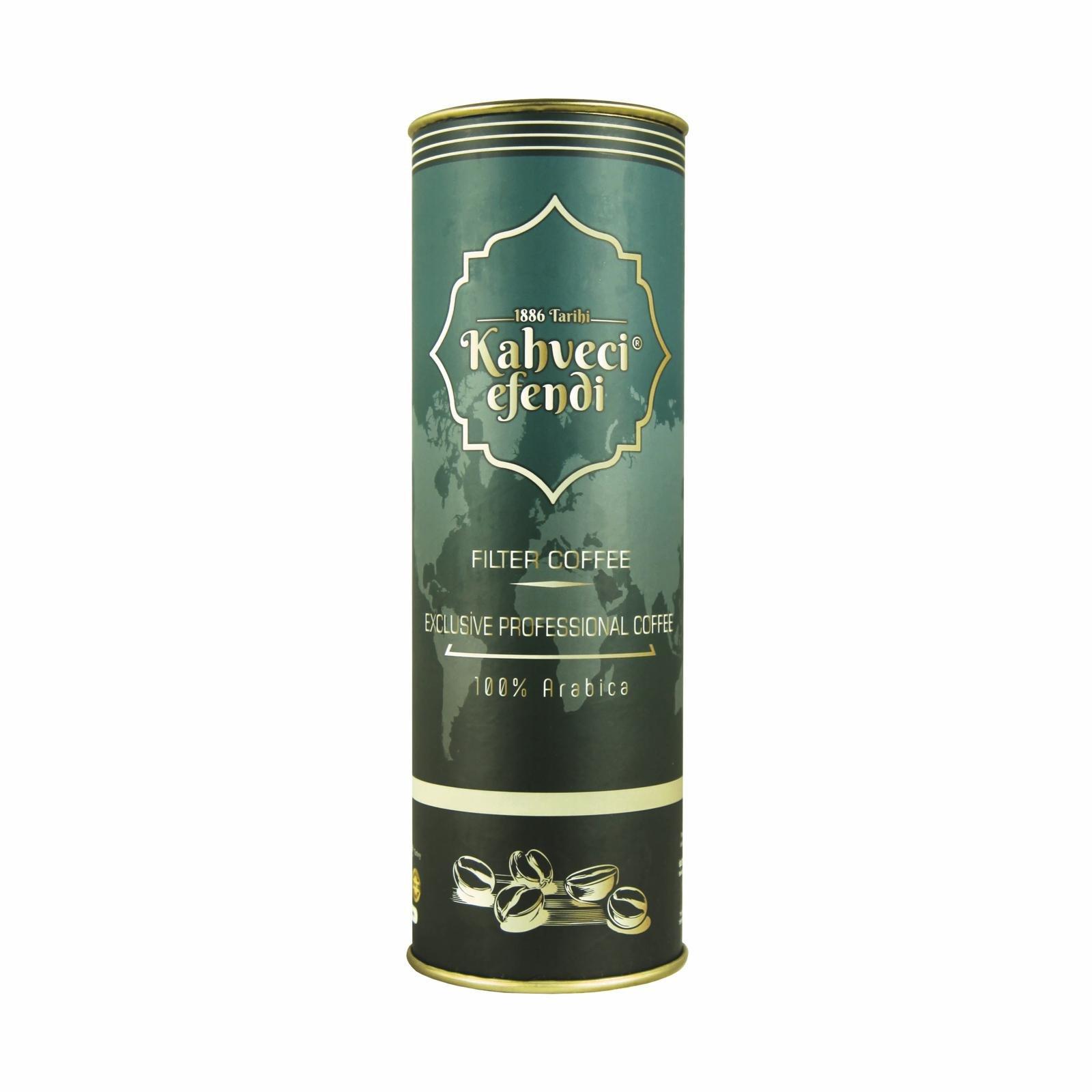 250 GR Exclusive Professıonal Filtre Kahve Premium Teneke Kutu
