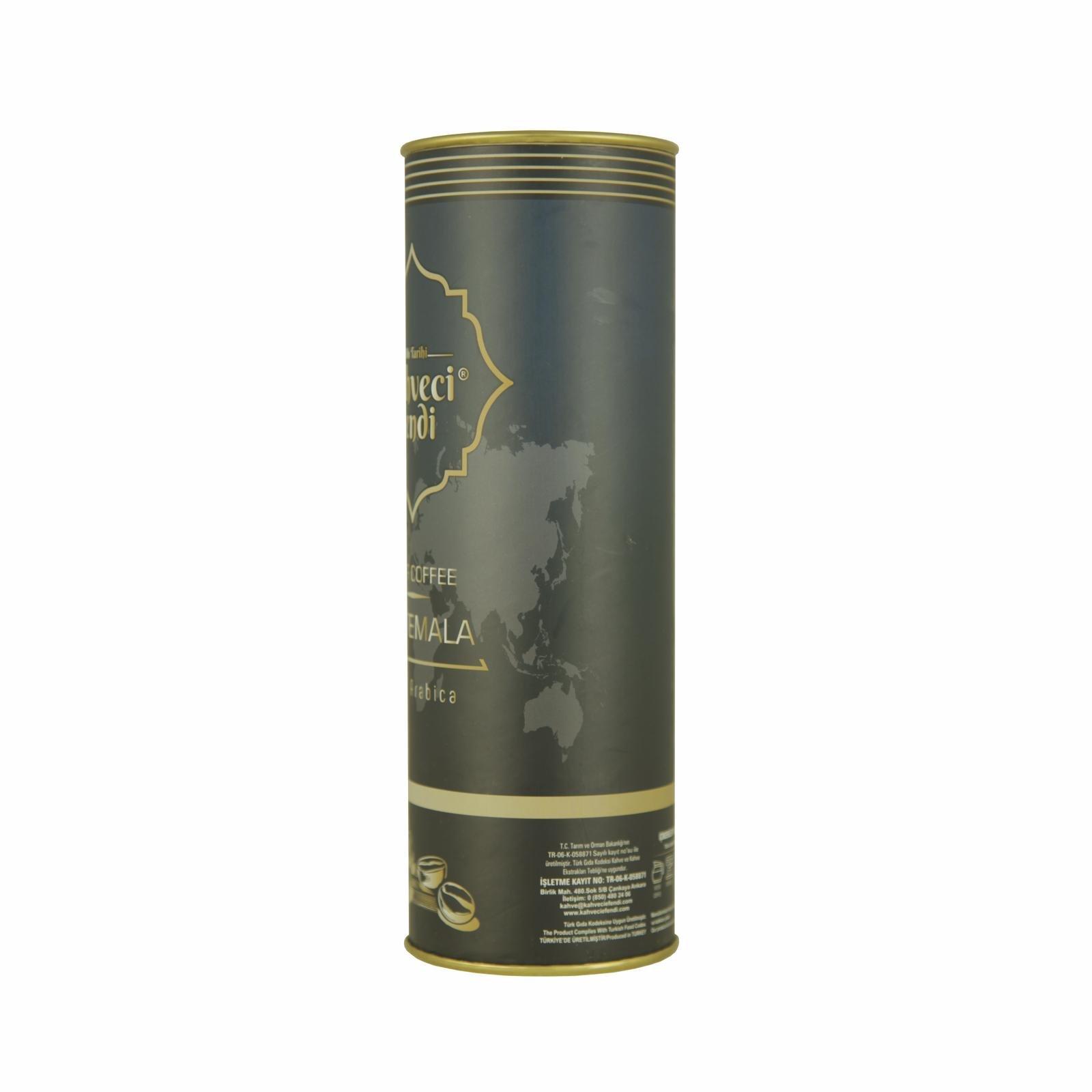 250 GR Guatemala Filtre Kahve Premium Teneke Kutu