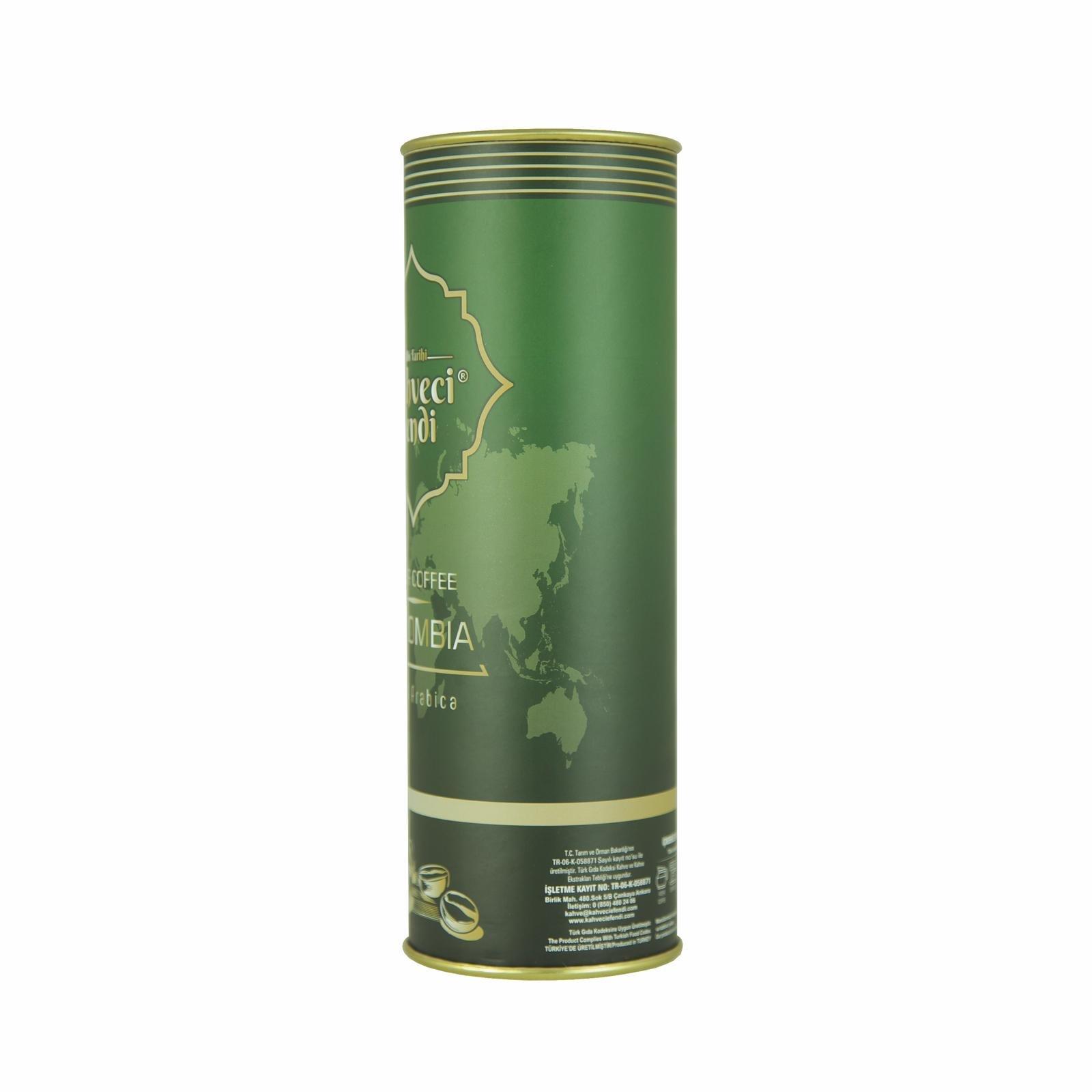 250 GR Colombia Filtre Kahve Premium Teneke Kutu